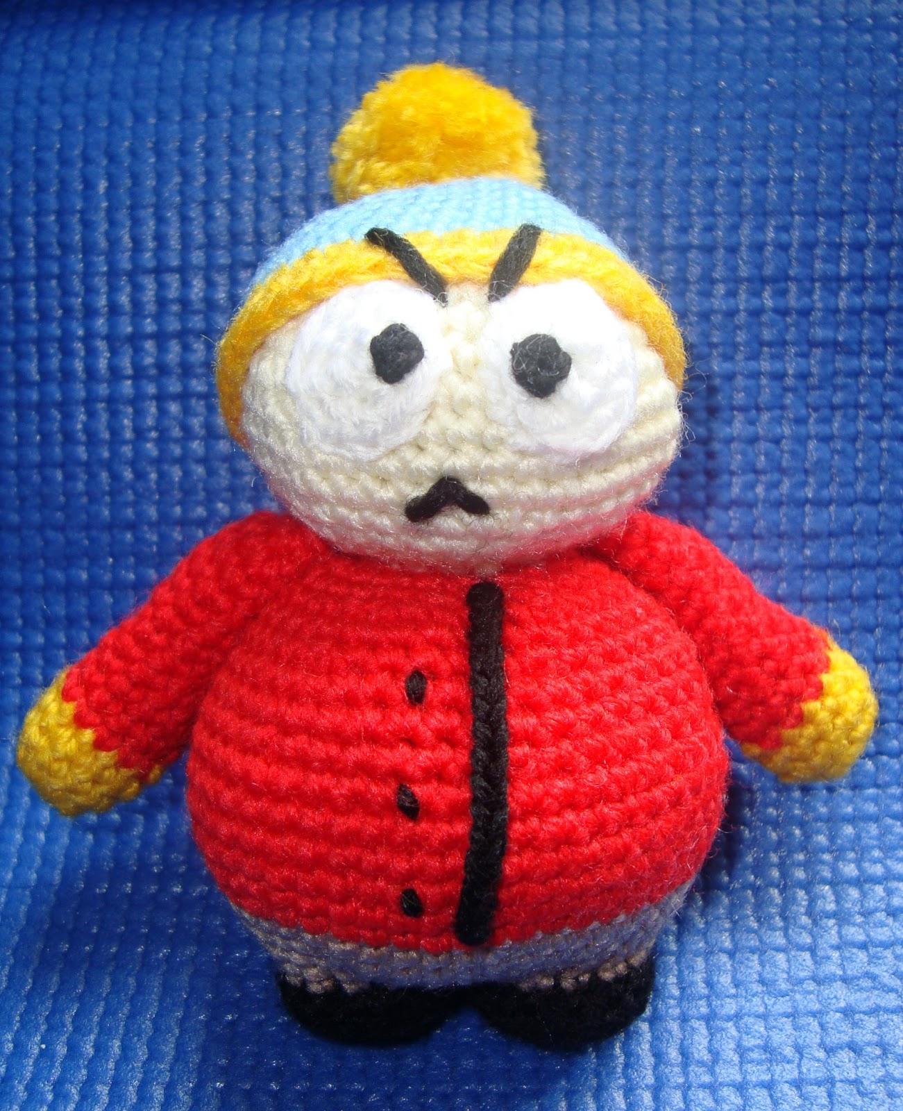 Amigurumi Cartman : Semillas de bonsai: Amigurumi Cartman (South Park)