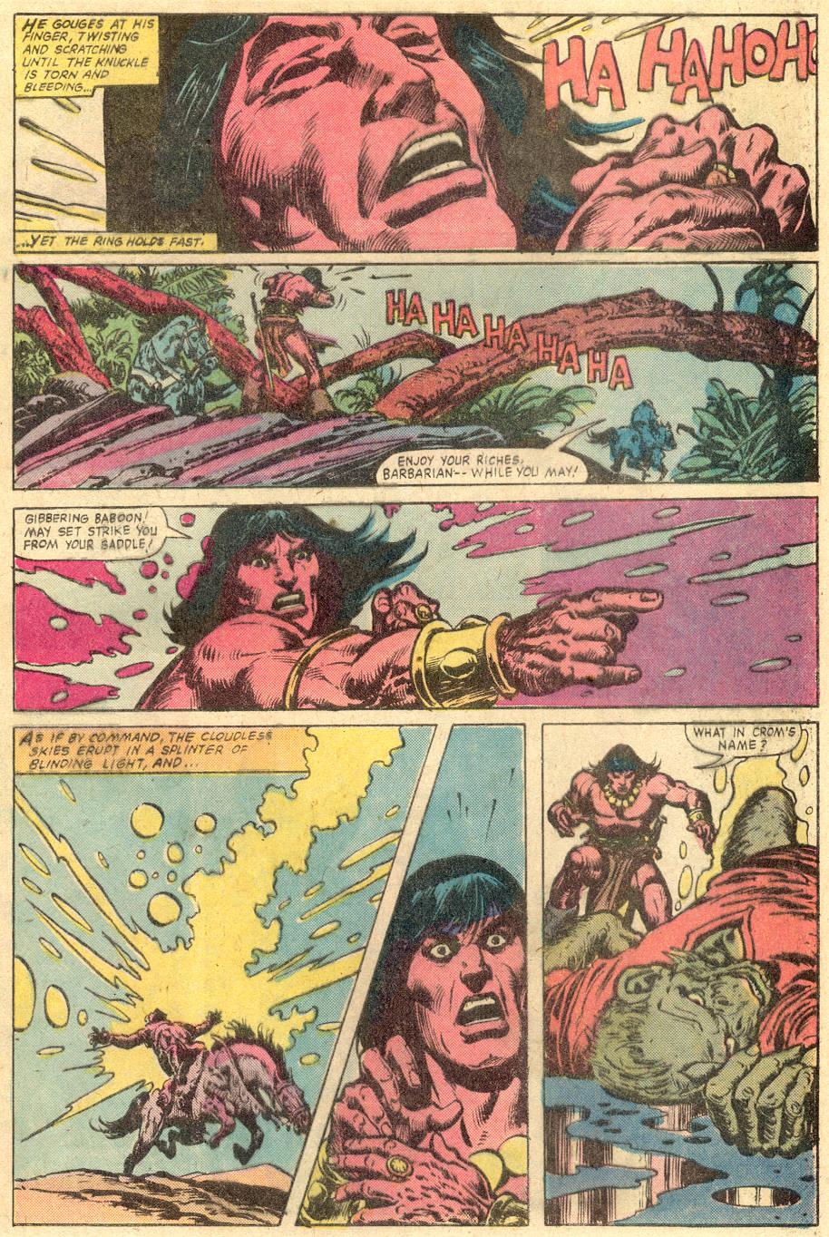 Conan the Barbarian (1970) Issue #131 #143 - English 6