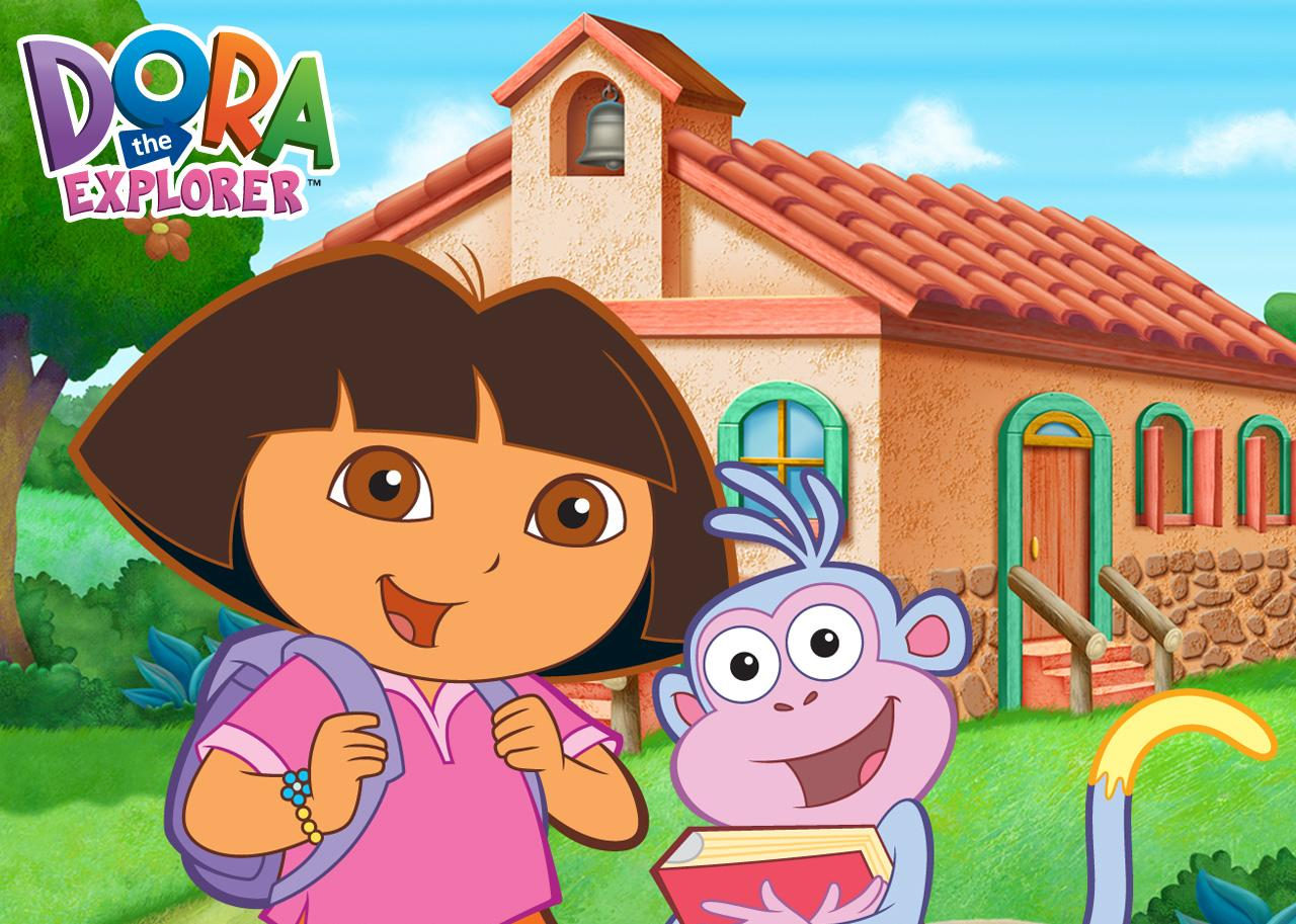 es Tico la ardilla, que habla inglés y a quien Dora traduce lo que