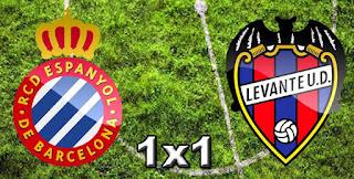 Espanyol 1x1 Levante
