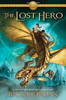 bookcover of The Lost Hero by Rick Riordan