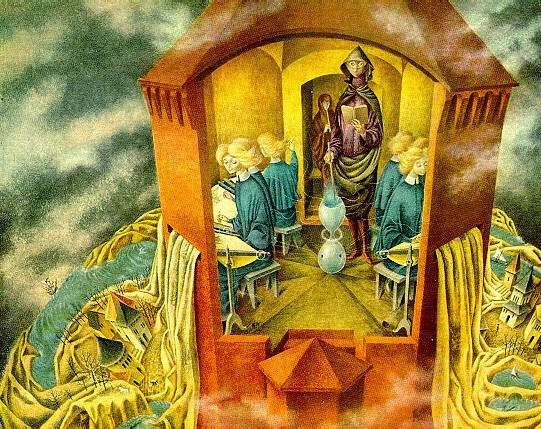 Remedios Varo Paintings amp Artwork Gallery in Chronological