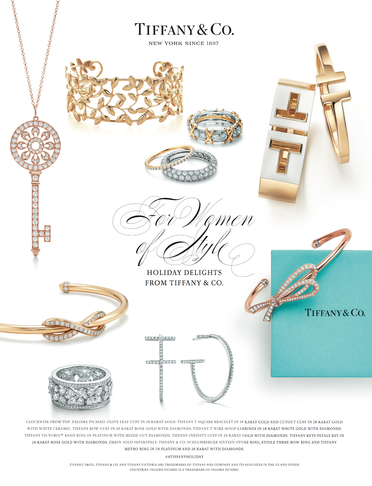 Tiffany & Co Christmas Gifting Ideas For Him and Her!