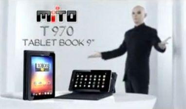 Mito T970 merupakan sebuah tablet yang ber OS Android ICS yang