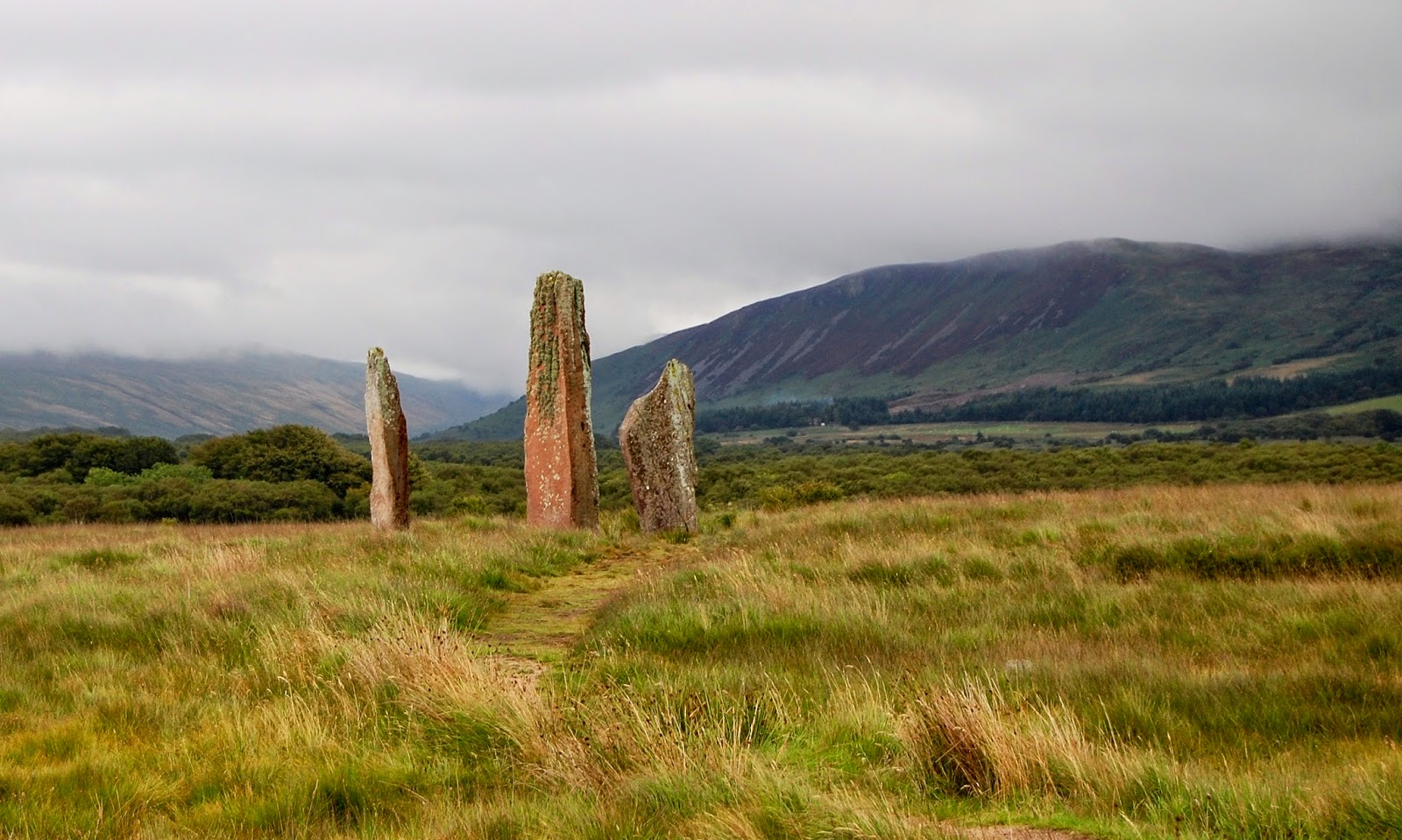 Standing stones at Machrie Moor