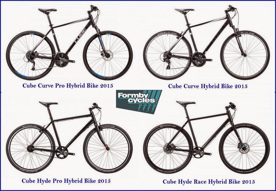 Hybrid Bikes: Cube - 2015 Collection for Sale in UK