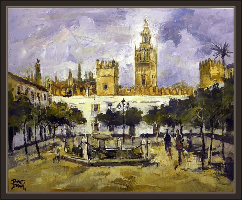 Ernest descals artista pintor cordoba mezquita sevilla for Todo pintura sevilla