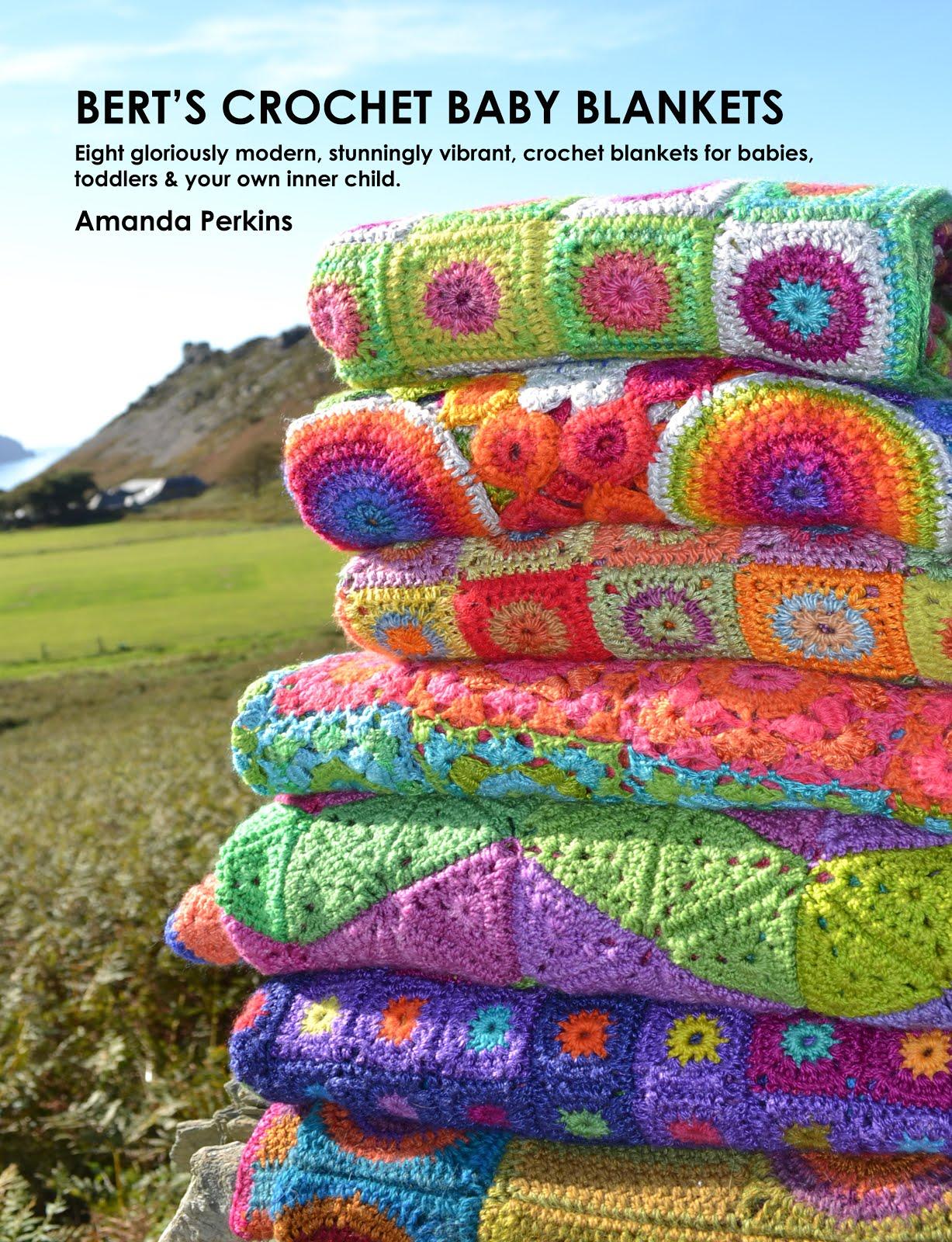 Bert's Crochet Baby Blankets Book