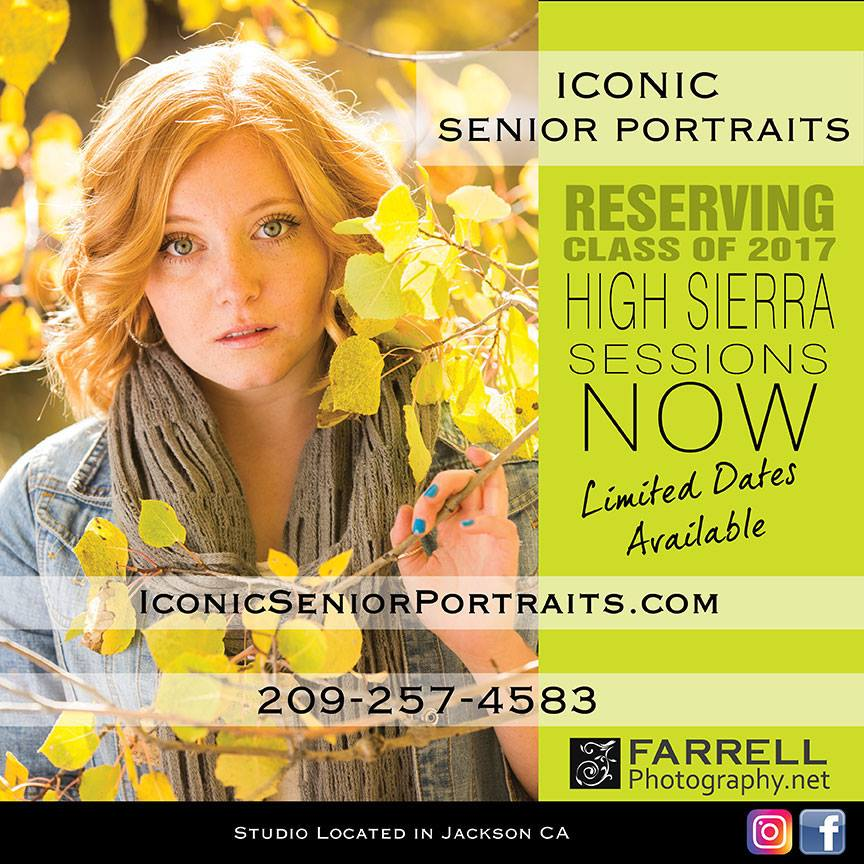 Iconic Senior Portraits - Farrell Photography