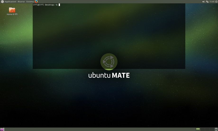 Tilda in Ubuntu MATE