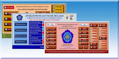 Kumpulan Penilaian dan Raport SD SMP SMA SMK Kurikulum 2013 Terbaru