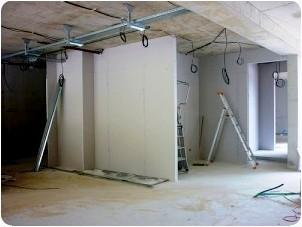 pose de cloison et faux plafonds renov ex renovation experts paris. Black Bedroom Furniture Sets. Home Design Ideas