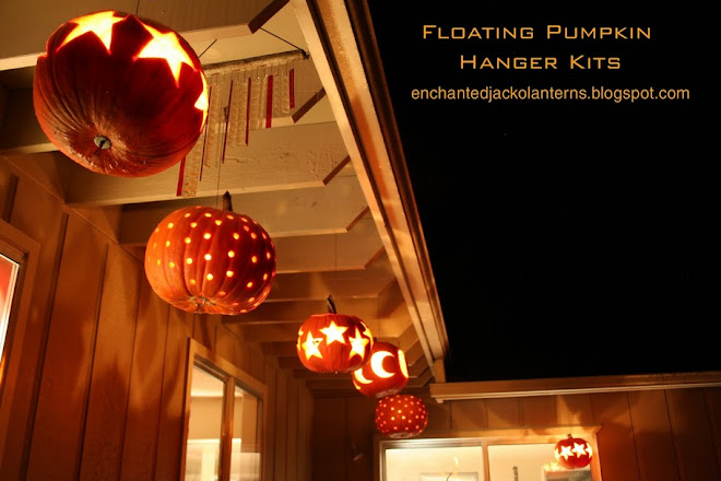 Floating Pumpkin Hanger Kits - Suspend REAL Pumpkins Anywhere