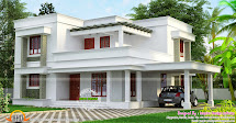 Simple Beautiful Flat Roof House - Kerala Home Design