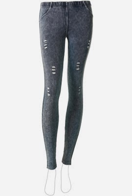 leggings Calzedonia primavera verano 2014 denim