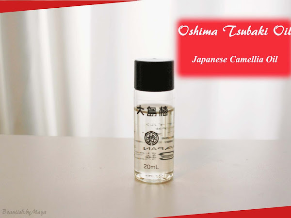 Oshima Tsubaki - Japanese Camellia Hair Care Oil for dry demaged hair and scalp