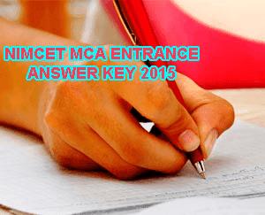 NIMCET 2015 Answer Key for Mathematics, NIMCET Entrance Key 2015, NIMCET MCA Entrance Question Paper 2015, NIMCET Answer Key 2015 for General English, NIMCET May 31, nimcet2015.nita.ac.in Answer Paper Computer Awarness, NIT MCA Common Entrance Test 2015 (NIMCET) Key