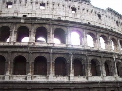Coliseo de Roma. Siete Nuevas Maravillas del Mundo