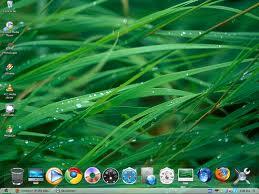 Microsoft+Windows+XP+SP2+Mac+OSX+Glass+Edition+desktop