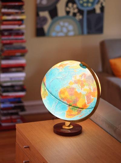 Replogle light up globe