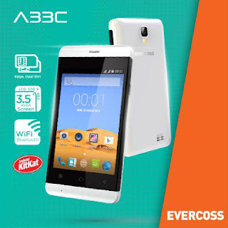 Evercoss A33C Smartphone Android Murah Harga Rp 300 Ribuan