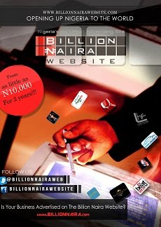 Be Part of the Billion Naira Website