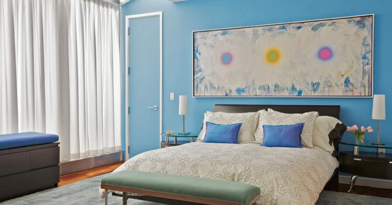 Peinture chambre coucher lgant decoration couleur de - Carrelage chambre a coucher ...