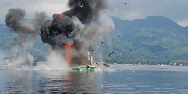 Cerita di balik garangnya Menteri Susi ledakkan kapal ilegal