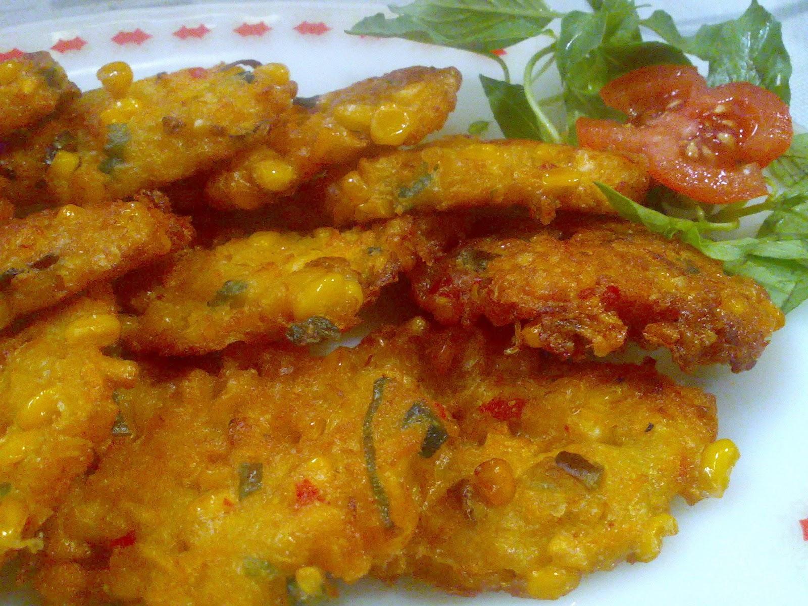 Resep Masakan Indonesia Perkedel Jagung