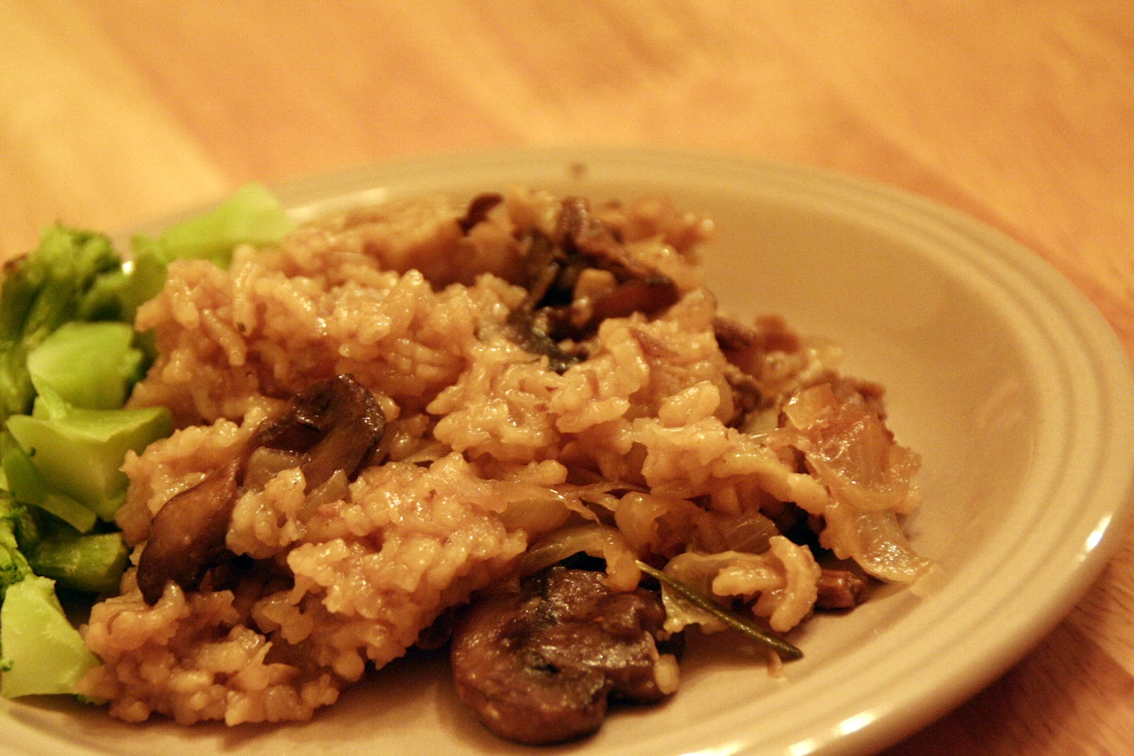 Tales from the Mad Men Kitchen: Mushroom Risotto with ...