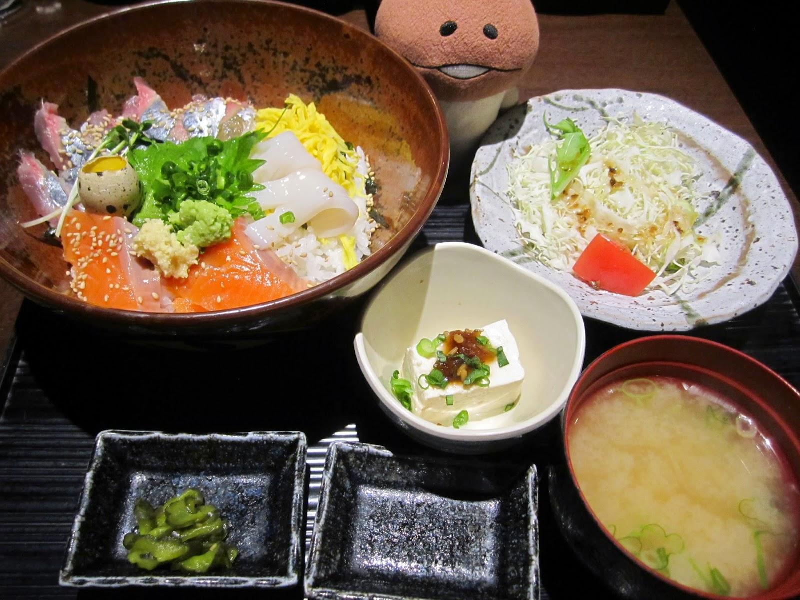 Seafood on Rice Maruumiya Paseo Sapporo Station