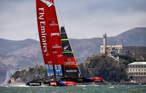 ORACLE TEAM USA vince la 34ma America's Cup
