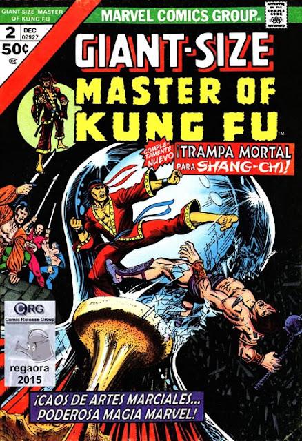 Portada de Master of Kung Fu Giant-Size #2 traducido