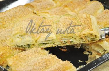 Oktay Usta Ispanaklı Peynirli Kolay Börek Tarifi Yeşil Elma