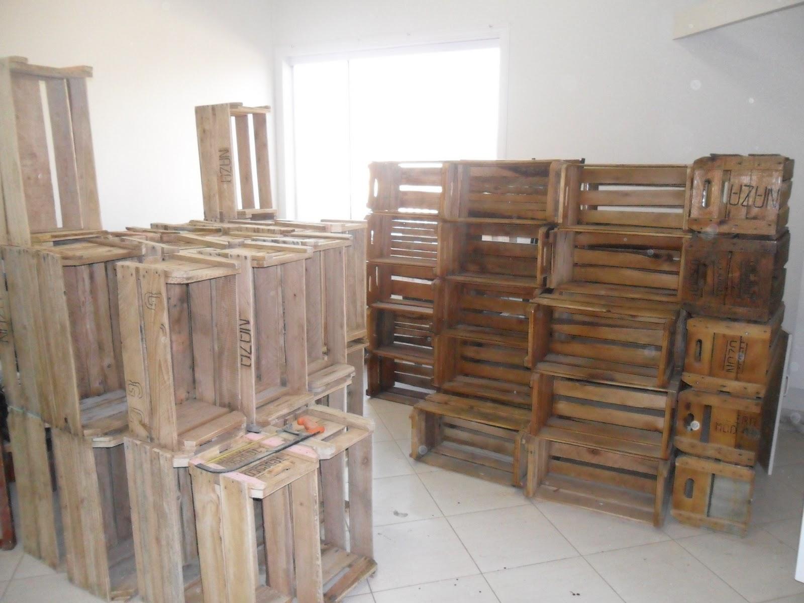 Pimenta  Pintura e Decoração: Módulos de caixote de feira #664934 1600x1200