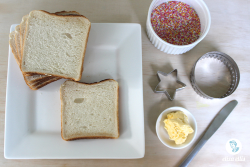 Classic Fairy Bread - Last Minute Sprinkles Party Part Three