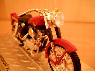 entyrega de la Harley-Davidson 883 XL Sportster 1957 de la colección de altaya