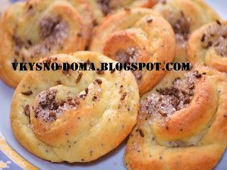 Творожное печенье с корицей и кокосовой стружкой