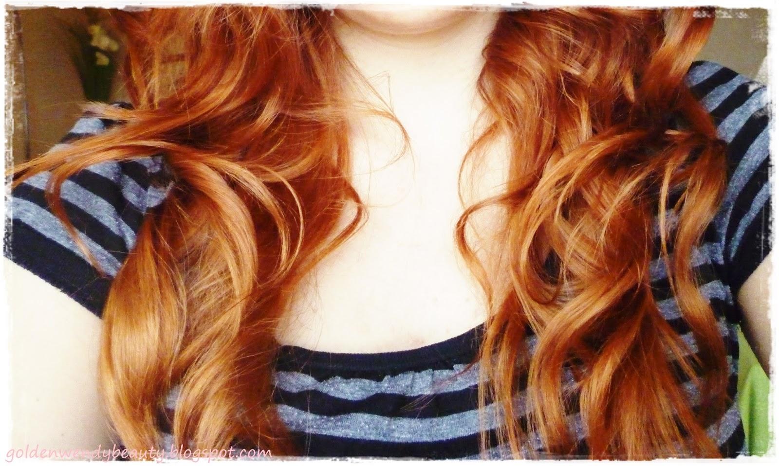 Palette de couleur cheveux roux