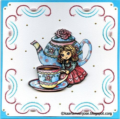 kopje thee afbeelding