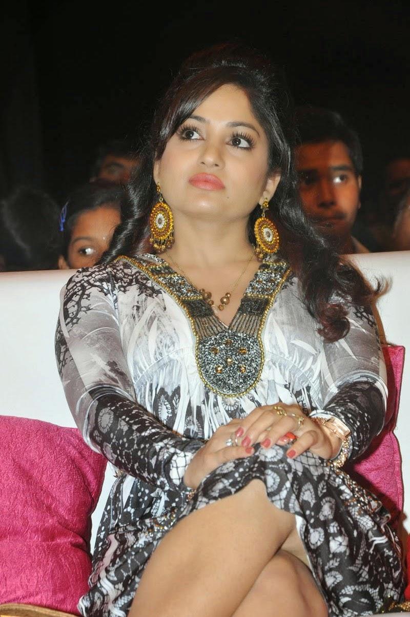 Madhavi Latha at Pooja Movie Audio Launch Event In Hyderabad