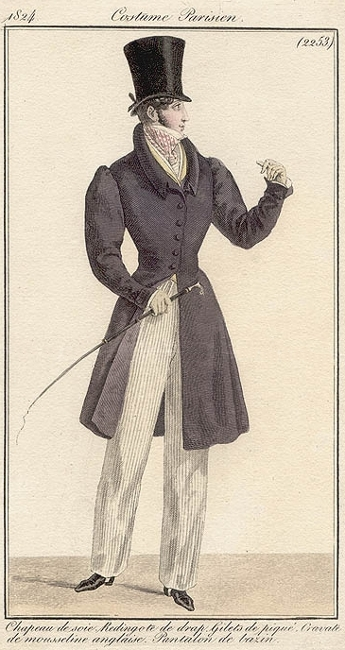 Costume Parisien 1824