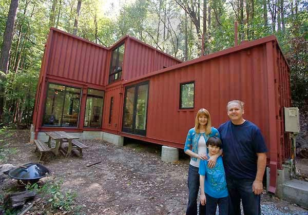 A Shipping Container Costs About $2,000. What These 15 People Did With That Is Beyond Epic - The best part about this one is that you know they made it out of shipping containers.