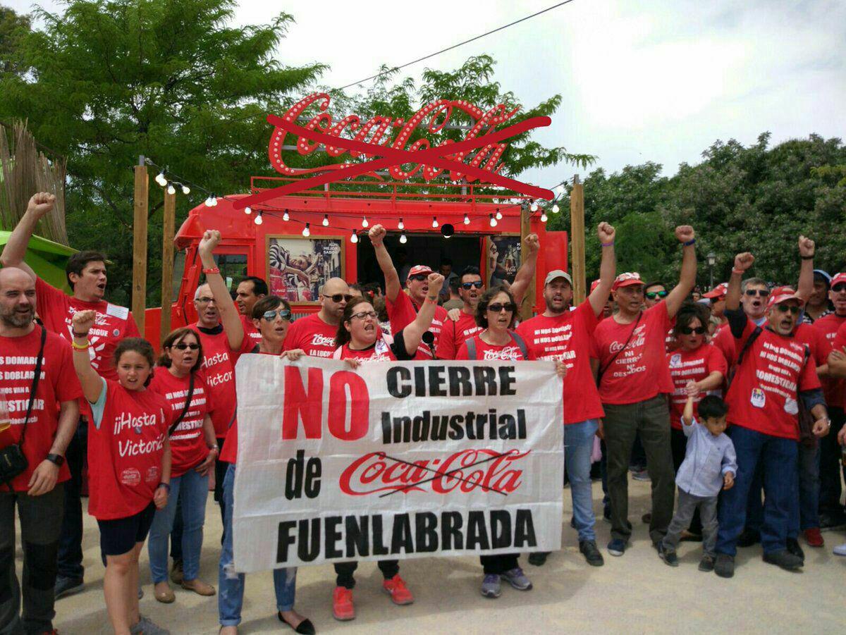 15 mayo Cocacola en Lucha