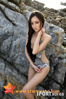 Oh Cho Hee Korean Sexy Model Hot Swimsuit 4