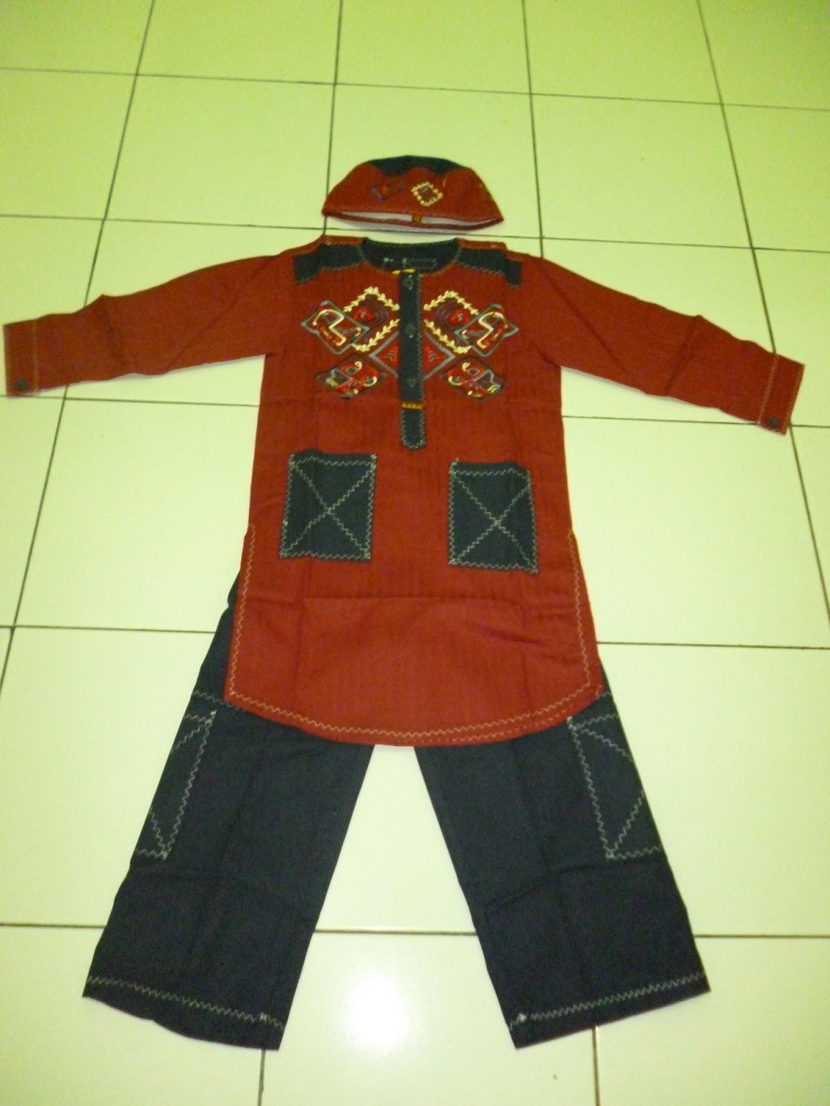 Baju Anak Keke KM 62 Merah