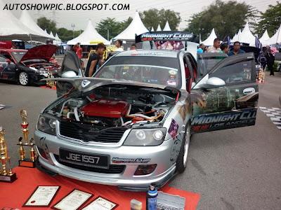 Modified Waja Autoshow Car