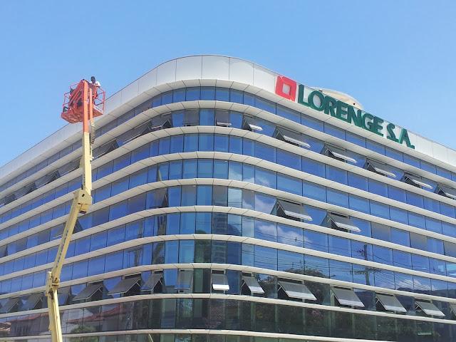 A nova sede da Lorenge.