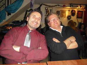 Con Jose María Campillo de recital en recital.