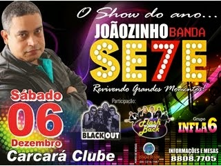 O SHOW DO ANO NO CARCARÁ CLUBE